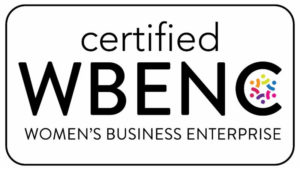 Certified Women's Business Enterprise.